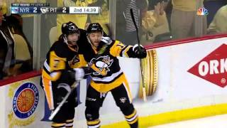 New York Rangers vs Pittsburgh Penguins. Game #5. PlayOffs NHL 2016