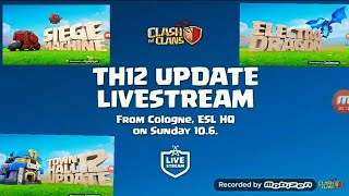 Town Hall 12 Update Live stream Coming Soon.