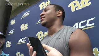 Pitt Football   Fall Camp Practice 16   Saleem Brightwell