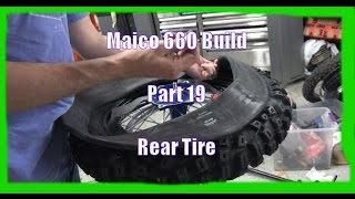 Dirtbike Build: Building a 660cc 2 Stroke Monster (Maico 660) Part 19 - Tires P1