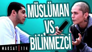 Allah'ın Varlığı Belirsiz Diyen Genç İle Sokak Röportajı
