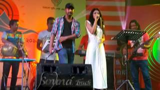 CloseUp1 Rajib & Keya Live with Peaceful Musician's Team