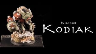 Painting Warmachine & Hordes: Khador Kodiak