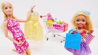 HAMİLE #Barbie yeni doğacak bebeği için alışverişe gidiyor. #aileoynu