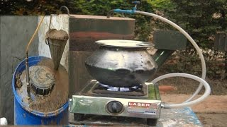 """How To Make Home Made Gobar gas plant By Rajiv Dixit""""sDisciple."""