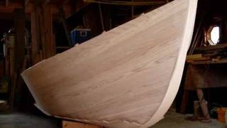 Building a wooden boat