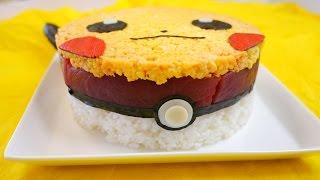 Pikachu Sushi Cake ピカチュウ 寿司 ケーキ