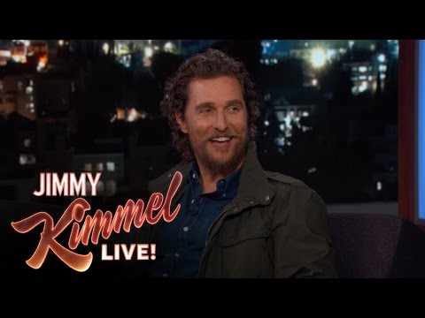 Matthew McConaughey Loved Gaining Weight For New Movie Gold