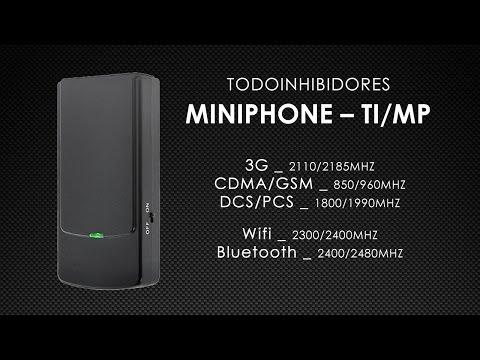 Inhibidor de frecuencia WiFi y Bluetooth 2.4Ghz GSM 850 900 1800 1900 GPRS 3G