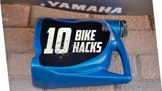 10 Motorcycle Hacks For Enthusiasts