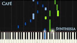 Synthesia Tutorial Vladimir Sterzer - Café (Gothic Piano)