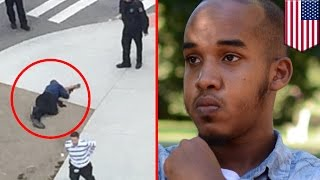Ohio State attack: Somali muslim refugee stabs 11 people then gets killed by hero cop - TomoNews