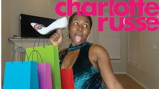 SHOP WITH ME CLOTHING HAUL : CHARLOTTE RUSSE