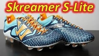 Warrior Skreamer S-Lite Blue Radiance/Bright Marigold/Insignia Blue - Unboxing + On Feet