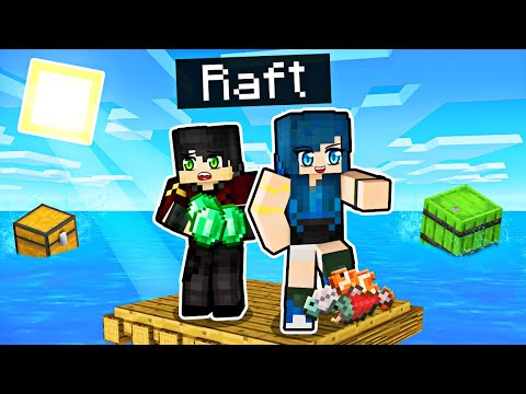 We re LOST on a Minecraft Raft