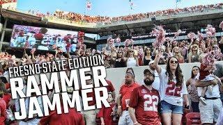 "Alabama fans sing ""Rammer Jammer"" after Tide beats Fresno State"