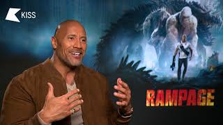 Dwayne Johnson talks WWE, Fighting Conor McGregor and New Movie Rampage | Tom On KISS