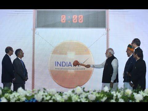 watch PM Modi Inaugurates first International Stock Exchange at Gift City, Gandhinagar