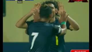 عمرو مرعي يسجل هدف إنبي في مرمى الزمالك