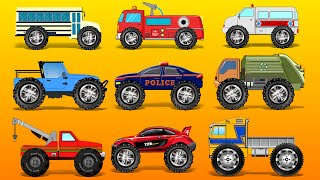 Monster Truck | Street Vehicles | Monster Car