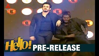 Akhil Akkineni Dance Performance For Mass Title Song At HELLO Pre Release Event