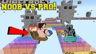 Minecraft: NOOB VS PRO!!! - JEN