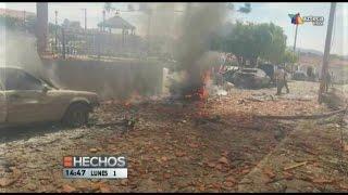 EMGL - Investigan explosión en Chiquilistlán
