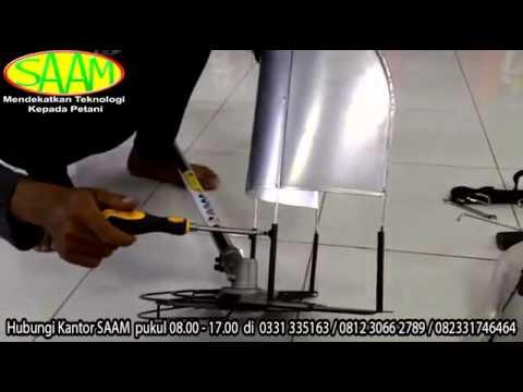 Mengubah Alat Potong Rumput Menjadi Alat Potong Padi HUB 082 3317 46464 081230662789