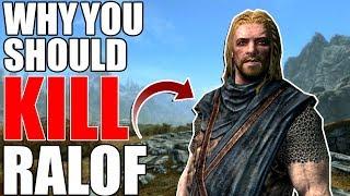 Why You Should Kill Ralof? | Hardest Decisions in Skyrim | Elder Scrolls Lore