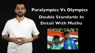 Olympics vs Paralympics - Double Standards In Detail with Muthu | Vlog | Madras Central