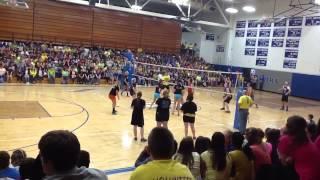 Madison High School Senior Girls VS Senior Boys Volleyball