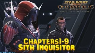 SWTOR Knights Of The Fallen Empire Chapters Cinematic 1-9