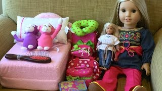 How To Travel With Your American Girl Doll ~ Two Night Hotel Vacation Stay!