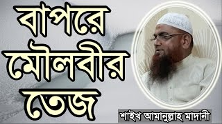 Bangla Waz Bapre Moulobir Tez by  Shaikh Amanullah bin Ismail al Madani | Free Bangla Waz