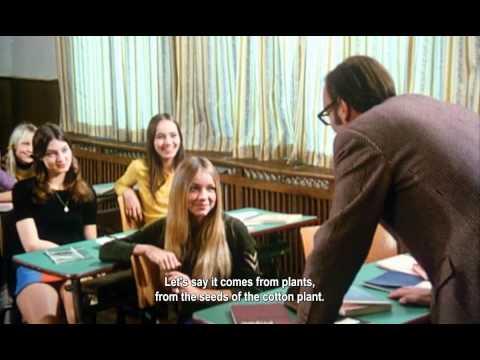 'Schulmädchen-Report 3. Teil' (1972) - classroom scene