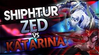 Shiphtur | Legendary Zed vs Katarina | Stream Highlights