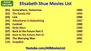 Elisabeth Shue Movies List