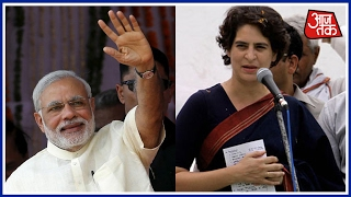 Priyanka Gandhi In Raebareli; Mocks Modi's Comment Of Being UP's Adopted Son