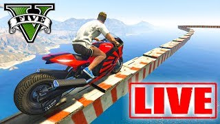 GTA V na LIVE com a GANGUE LOTADA!!! (BORA MITAR AO VIVO)