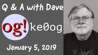 Ask Dave Q&A 5 Jan 2019