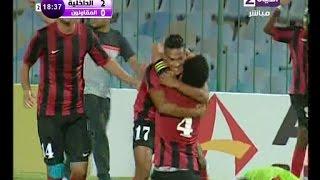 الهدف الثاني للداخلية على فريق المقاولون 0/2 فى المبارة الاولي للدوري المصري 2016/2015
