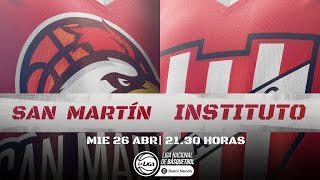 Liga Nacional: San Martín vs. Instituto | #LaLigaEnTyC