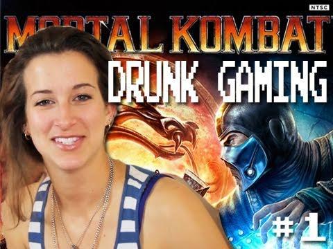 Drunk Gaming Mortal Kombat