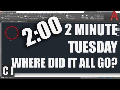 AutoCAD: How to Fix Zoom Extents & Drawing Disappears! - 2 Minute Tuesday