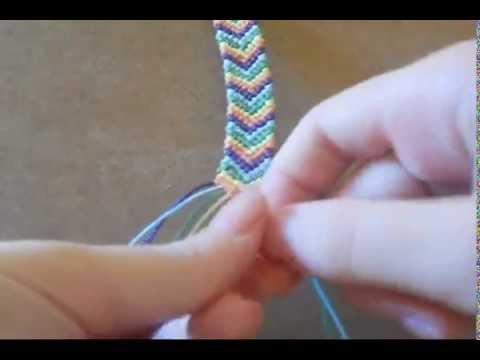 Friendship bracelets ♥︎Pattern 1