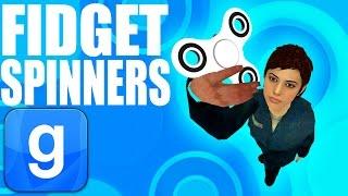 WORKING FIDGET SPINNERS IN GMOD! (Garry's Mod)