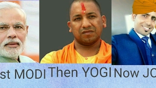 images First MODI Then YOGI Now JOGI Campaign To Make India Beautiful HARYANVI COMEDY Ashok Riwal