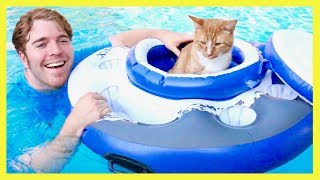 TRYING CRAZY POOL TOYS