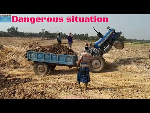 Xxx Mp4 Load Tractors Swaraj Vs Sonalika Vs Powertrac Showing Their Engine Power 3gp Sex