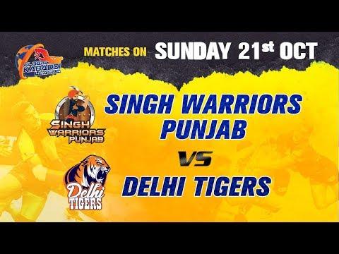 Xxx Mp4 Global Kabaddi League 2018 Singh Warriors Punjab V S Delhi Tigers 3gp Sex